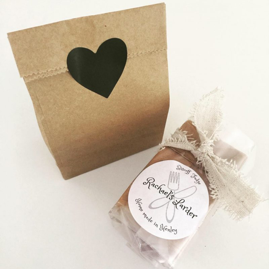 Fudge gift wrap