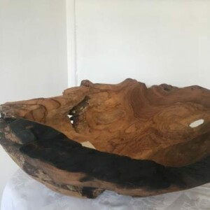 Rustic Tree Bowl