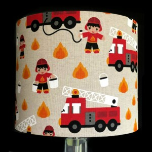 Fire engine Lampshade