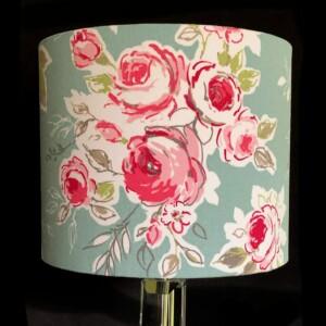 Pink Rose Lampshade